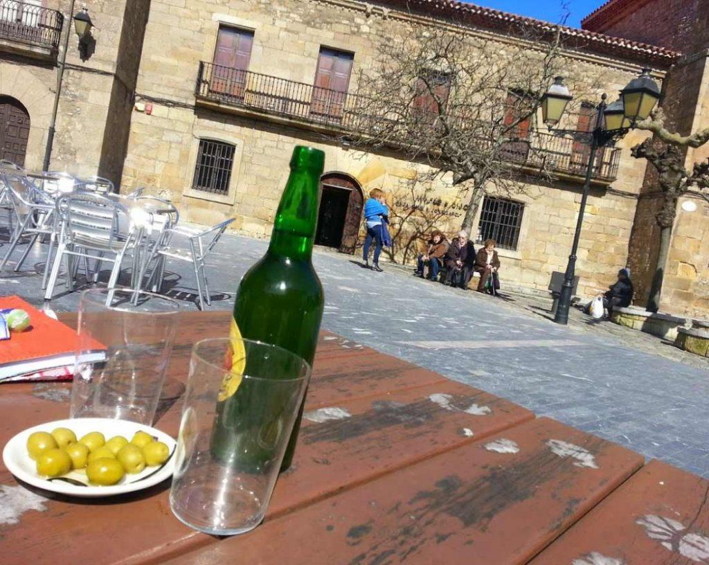 Asturian cider in Gijon