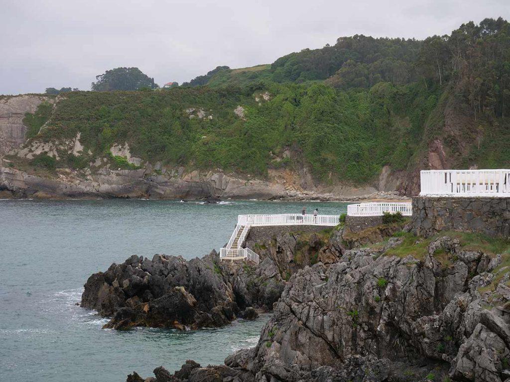 Perlora Beach, in Carreño, Asturias