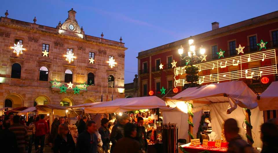 December market in Asturias