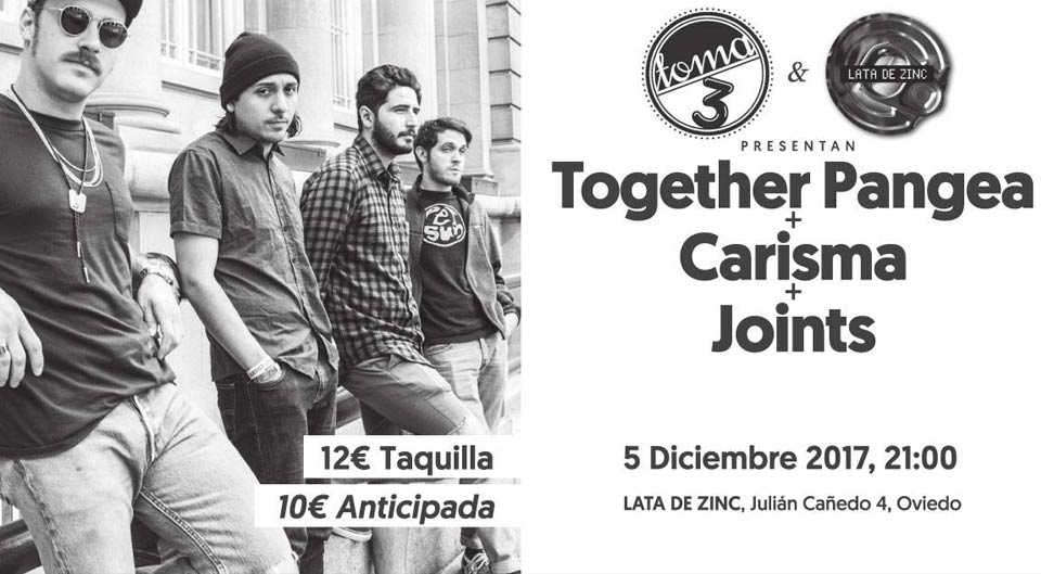 together Pangea shows in Spain