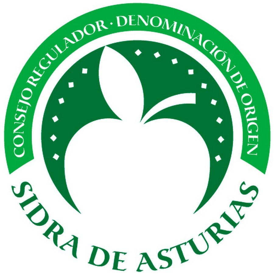 label of original Asturian cider
