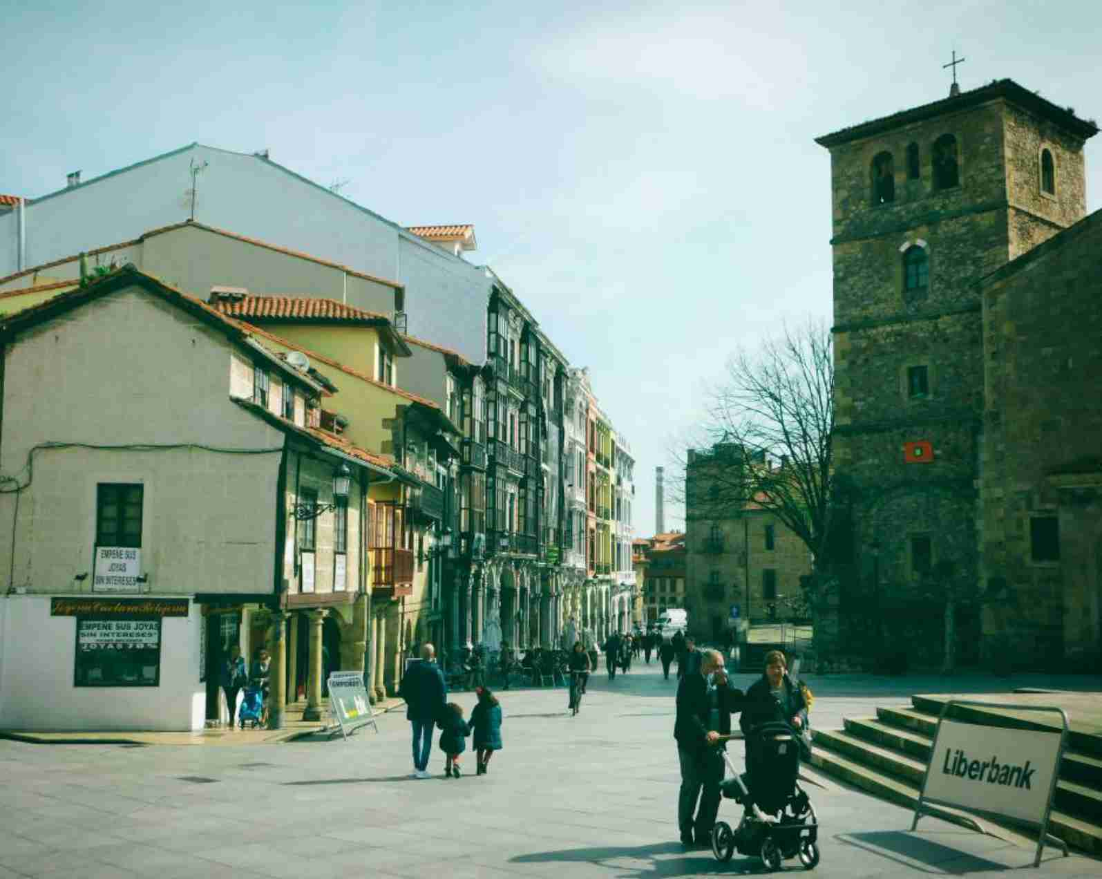 Square in Avilés
