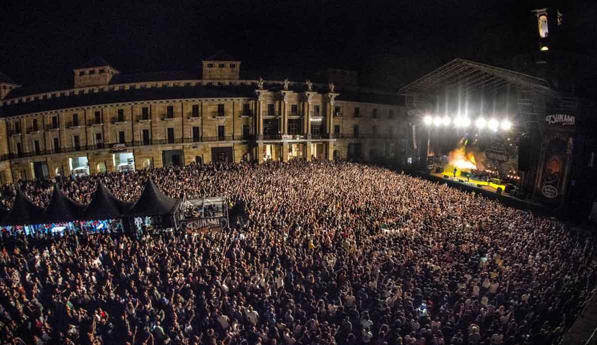 Tsunami XIxon, a festival in Asturias, Spain