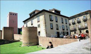 Roman rests in Cimadevilla Gijon